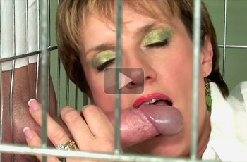 Caged Trophy Wife Used Hard