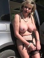Housewife-Undressed-Outdoors-thumb-5